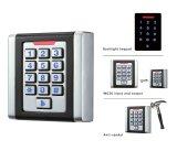 Square Design Metal Keypad Access Control RFID Reader Device (K6EM-W)