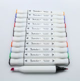 44 Colors Twin Tip Permanent Farbic Textile Marker