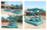 1t Hydraulic Stationary Scissor Lifting Equipment