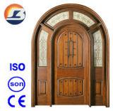 High Quality Exterior Meranti Solid Wooden Door