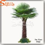 Landscaping Decoration Artificial Fake Fan Palm Tree