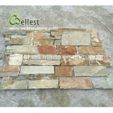 Factory Natural Rusty Color New Design Random Style Slate Loose Stone