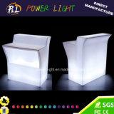 Plastic Straight Lounge Furniture Combination LED Modular Bar
