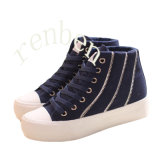 New Hot Arriving Footwear Women′s Casual Canvas Shoes