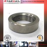 OEM Golden Anodization CNC Aluminum Machining