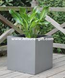 Fo-303 Square Fiberglass Flower Pots for Garden Decorate