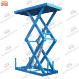 Small Scissor Hydraulic Lift Loading 2.5t