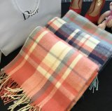 Winter Warm Fashion Acrylic Plaid Scarves