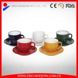 Wholesale 2-Tone Color Cup & Saucer