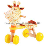 Factory Supply Wooden Bicycle with Giraffe Head