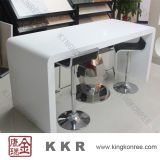 Modern Solid Surface Dining Table for Bar Coffee Restaurant