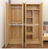 Bedroom Wood Furniture Melamine Chipboard MDF Wardrobe