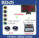 CE Approved 433.92MHz Wireless Paging and Queuing System for Restaurant