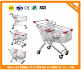Supermarket European Style Shopping Trolley Cart