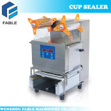 Touch Panel Stainless Steel Bubble Tea Cup Sealing Machine (FB-480)
