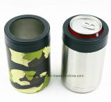 12oz Stainelss Steel Thermos, Beer Can Cooler