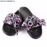 CJ-RB-0055 New Design Ladys Sandal Custom Plush Slippers/Slides/Sandals