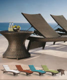 Rattan Furniture/Garden Furniture/Wicker Furniture/Outdoor Furniture/Chaise Lounger