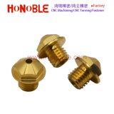 Brass CNC Turning Threaded Hexagonal Screw