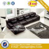 Italy Design Classic Wooden Office Furniture Leather Office Sofa (HX-SN8085)