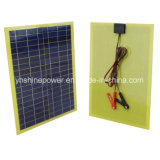 20 Watts Epoxy/PCB Solar Panel with 2m Cable & Clip
