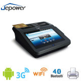 Credit Card Swipe POS Cash Register with Monitor and Barcode Reader