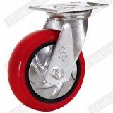 5 Inch Iron Core Polyurethane Swivel Caster Wheel