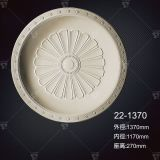 Traditional Acanthus Leaf Design Polyurethane Ceiling Medallion Artistic Ceiling Factory