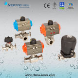 Stainless Steel Pneumatic Sanitary Valve