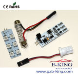 Remote Control RGB LED Dome Light