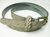 Ostrich Skin PU Belt (JB201203138)