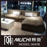 2014 New Modern Brown Fabric Sofa (S045B)