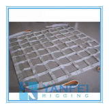 Polyester Webbing Cargo Net with Ratchet