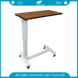 AG-Obt011 Wooden Hospital Use CE&ISO Over Bed Table