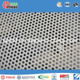 Metal Plate 316L/304 Round Hole Perforated Stainless Steel Sheet