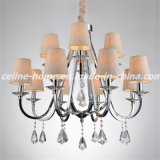 Crystal Pendant Lamp Chandelier (SL2019-8+4)