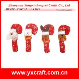 Christmas Decoration (ZY14Y117-1-2-3-4 20CM) Christmas Candy Cane Decoration Socks Pack