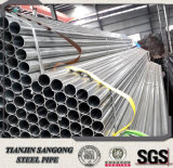 Pre-Galvanized Pipe Round Welded Pipe Manufacture Thickness: 0.9mm-2.5mm
