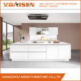 New Simple Design White Lacquer Modular Kitchen Cabinet