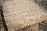 Yellow Split Granite Kerb Stones / Border Stone