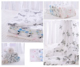Customized Design Organic Soft Cotton Gauze Baby Swaddle Blanket