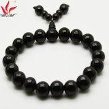 Tmb-021 10mm Fashion Buddha's Head Beads Bangle in Healtch Care Tourmaline Beads Jewelry