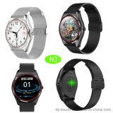2017 New Round Screen Bluetooth 4.0 Smart Watch