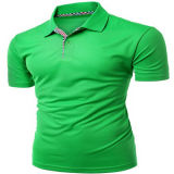 Dry Fit Polo Shirt with Polyester and Spandex