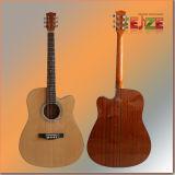 41inch Cutaway Spruce Sapele Folk Guitar