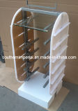 Steel & Metal & Wire/Wood & Glass Bespoke Display Stand