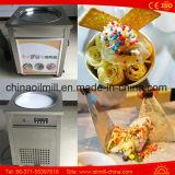 Thailand Fry Ice Cream Roll Making Fried Ice Cream Machine