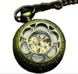 Retro Petals Hollowing Machines Pocket Watches