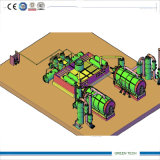 20 Ton Pyrolysis Plant Making Diesel From Waste Tires