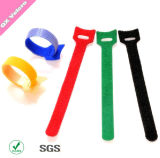 Reusable Adjustable Customized Print Hook & Loop Cable Ties